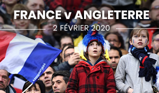 Match tournoi 6 nations 2020 France Angleterre Paris Billetterie