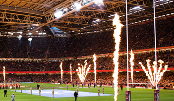 Match GALLES v ECOSSE - Cardiff - Billetterie - Weekend Tournoi 6 nations 2022 - Couleur voyages Rugby