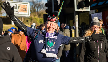 Match ECOSSE v ANGLETERRE - Edimbourg - Billetterie - Weekend Tournoi 6 nations 2022 - Couleur voyages Rugby