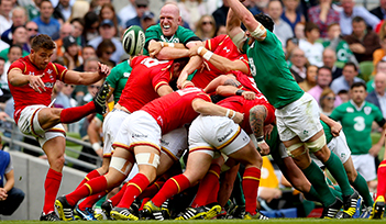Match IRLANDE v GALLES - Dublin - Billetterie - Weekend Tournoi 6 nations 2022 - Couleur voyages Rugby