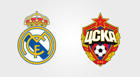 Real Madrid-CSKA Moscou